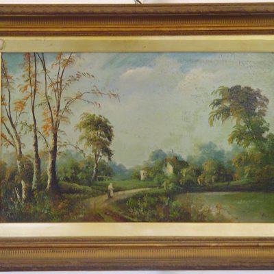 Mearus - Paesaggio con figura